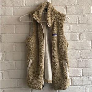 Patagonia Los Gatos furry fleece vest